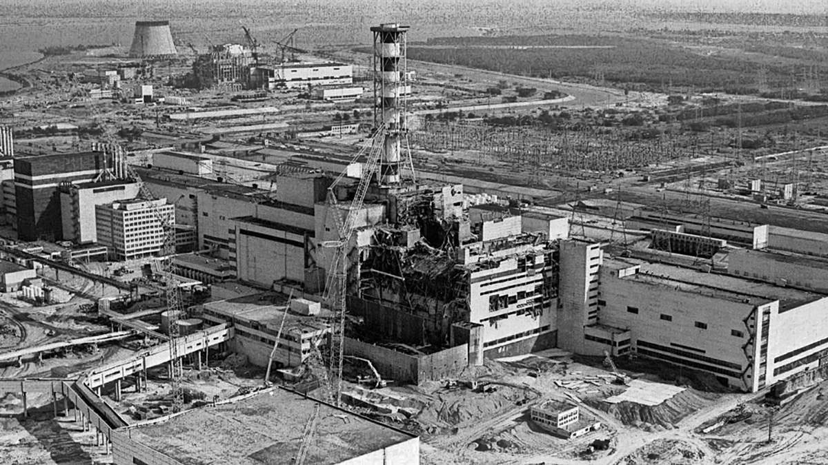 Ontplofte kernreactor Tsjernobyl