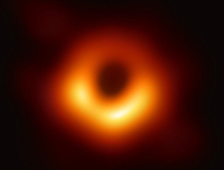 Event Horizon Telescope foto van een zwart gat