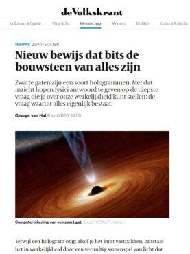 Artikel Volkskrant